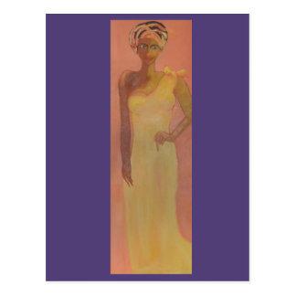 威厳のあるなアフリカの女性 ポストカード