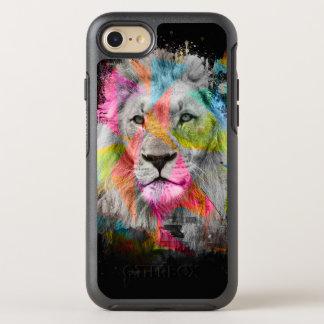 威厳のあるなオスのライオン オッターボックスシンメトリーiPhone 8/7 ケース