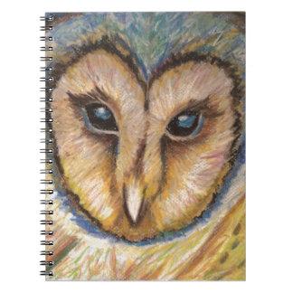 威厳のあるなフクロウのノート ノートブック