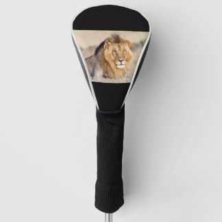 威厳のあるなライオン ゴルフヘッドカバー