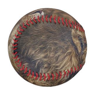 威厳のあるなライオン 野球ボール