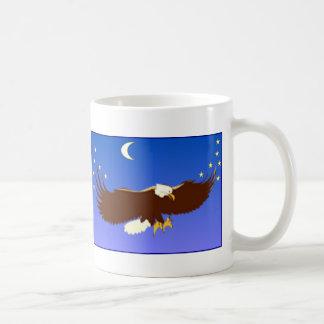 威厳のあるなワシ コーヒーマグカップ