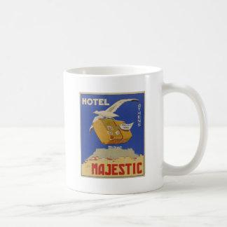 威厳のあるな広告アテネ古いギリシャのホテル コーヒーマグカップ