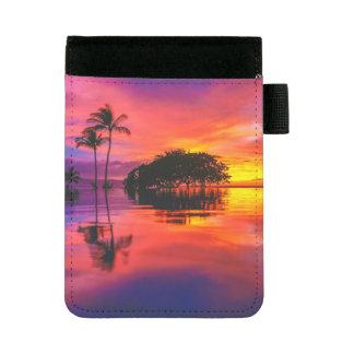 威厳のあるな日没| Waileaのビーチ、マウイ、ハワイ ミニパッドフォリオ