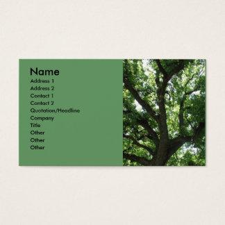 威厳のあるな木の名刺 名刺