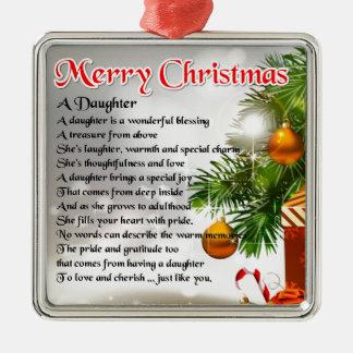 娘の詩-クリスマスのイメージ メタルオーナメント