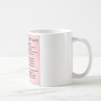 娘の詩-第18誕生日 コーヒーマグカップ