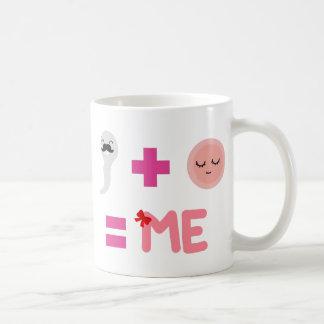 娘の誕生プロセス コーヒーマグカップ