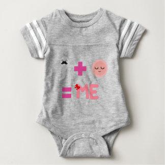 娘の誕生プロセス ベビーボディスーツ