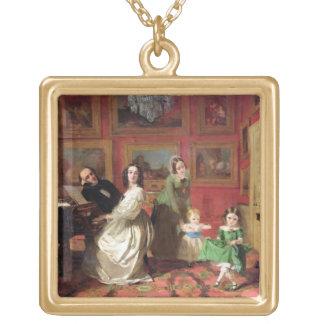 娘を持つPalmer-Lovell Rev.および夫人 ゴールドプレートネックレス