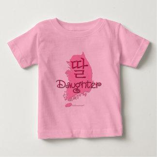 娘(韓国語) ベビーTシャツ
