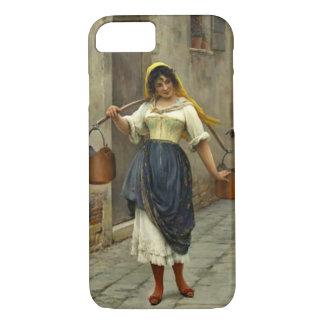婀娜っぽいMilkmaid 1890年 iPhone 8/7ケース