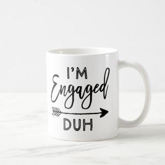 婚約したなDuhマグ コーヒーマグカップ