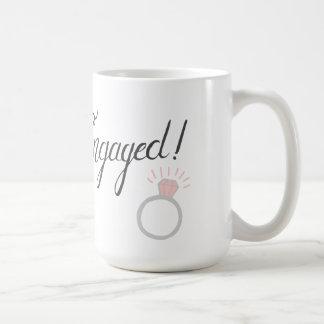 婚約した! コーヒー・マグ コーヒーマグカップ