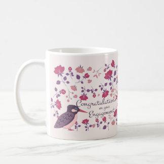 婚約のお祝いのギフトのマグの記念品 コーヒーマグカップ