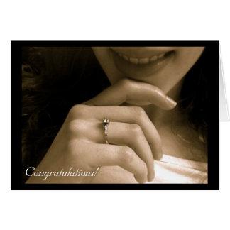 婚約のお祝い カード