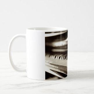 婚約のピアノ鍵 コーヒーマグカップ