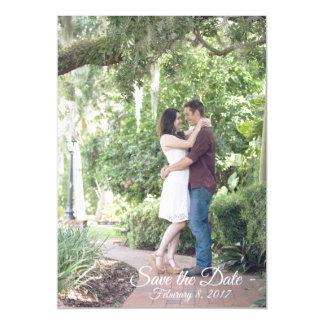 婚約の結婚式の保存日付 マグネットカード