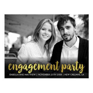 婚約パーティ のおもしろいの個人的な写真 ポストカード