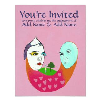 婚約パーティ カード