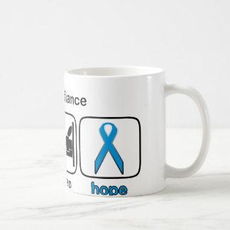 婚約者は睡眠の希望-リンパ腫--を食べます コーヒーマグカップ
