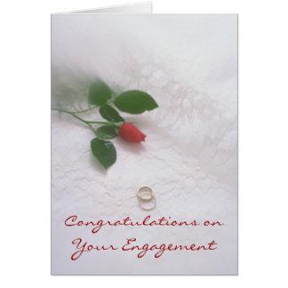 婚約 カード