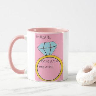 婚約 マグカップ