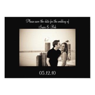 婚約、保存日付 カード