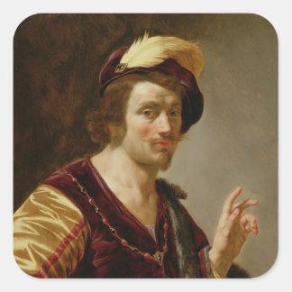 婚約: 新郎、c.1630 スクエアシール