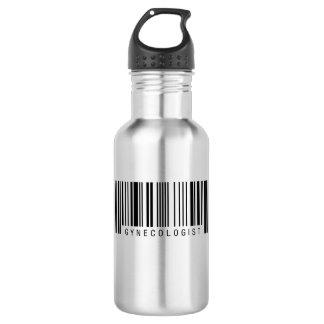 婦人科医のバーコード ウォーターボトル
