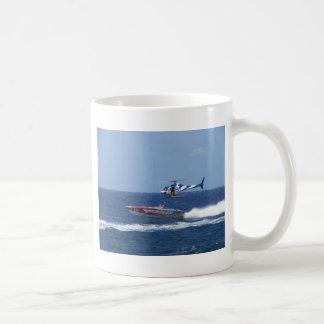 媒体のヘリコプター コーヒーマグカップ
