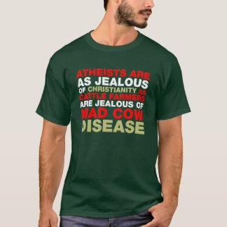 嫉妬深いですか。 Tシャツ