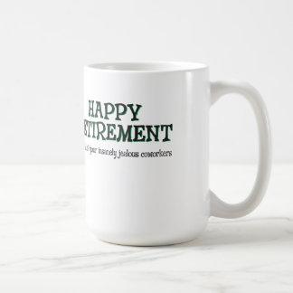 嫉妬深い協力者からの幸せな退職 コーヒーマグカップ
