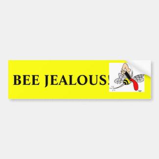嫉妬深い蜂! バンパーステッカー
