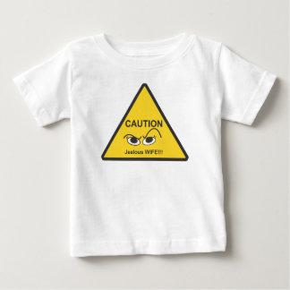 嫉妬深い ベビーTシャツ