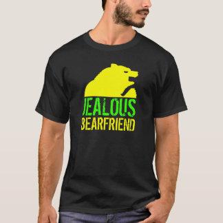 嫉妬深いBearfriendの黄色くま Tシャツ