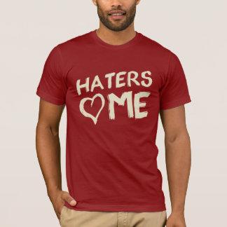 嫌悪症は私を写実的なティー愛します Tシャツ