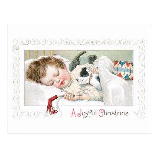 嬉しいクリスマス ポストカード