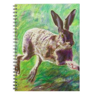 嬉しいノウサギ2011年 ノートブック
