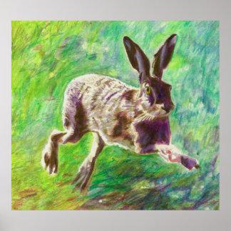 嬉しいノウサギ2011年 ポスター