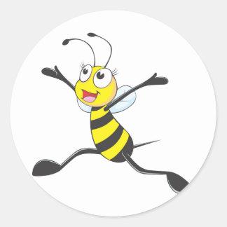 嬉しいメスの蜂 ラウンドシール