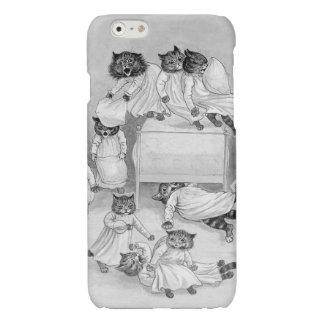子ネコのピローファイト! ルイWainのiPhone6ケース