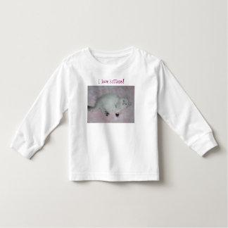 子ネコのワイシャツ トドラーTシャツ