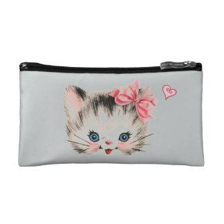 子ネコの化粧品のバッグ コスメティックバッグ