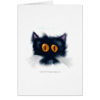 子ネコの生き物 カード