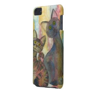 子ネコモンスターの水彩画 iPod TOUCH 5G ケース