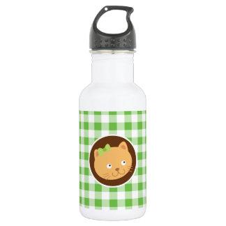 子ネコ; 緑のギンガム ウォーターボトル