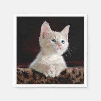 子ネコ: 魅惑的な時の~ スタンダードカクテルナプキン