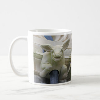 子ヒツジのガーゴイルのマグ コーヒーマグカップ