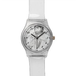 子ヒツジを持つイエス・キリスト 腕時計